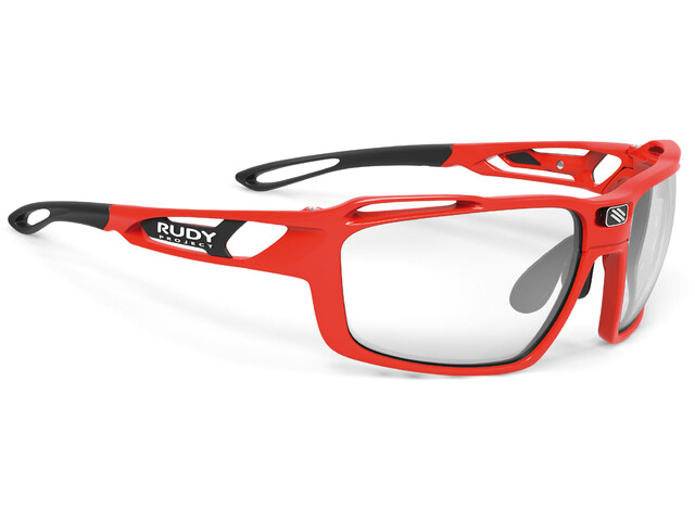 Rudy Project Sintryx Lunettes, fire red gloss - impactx photochromic 2 black